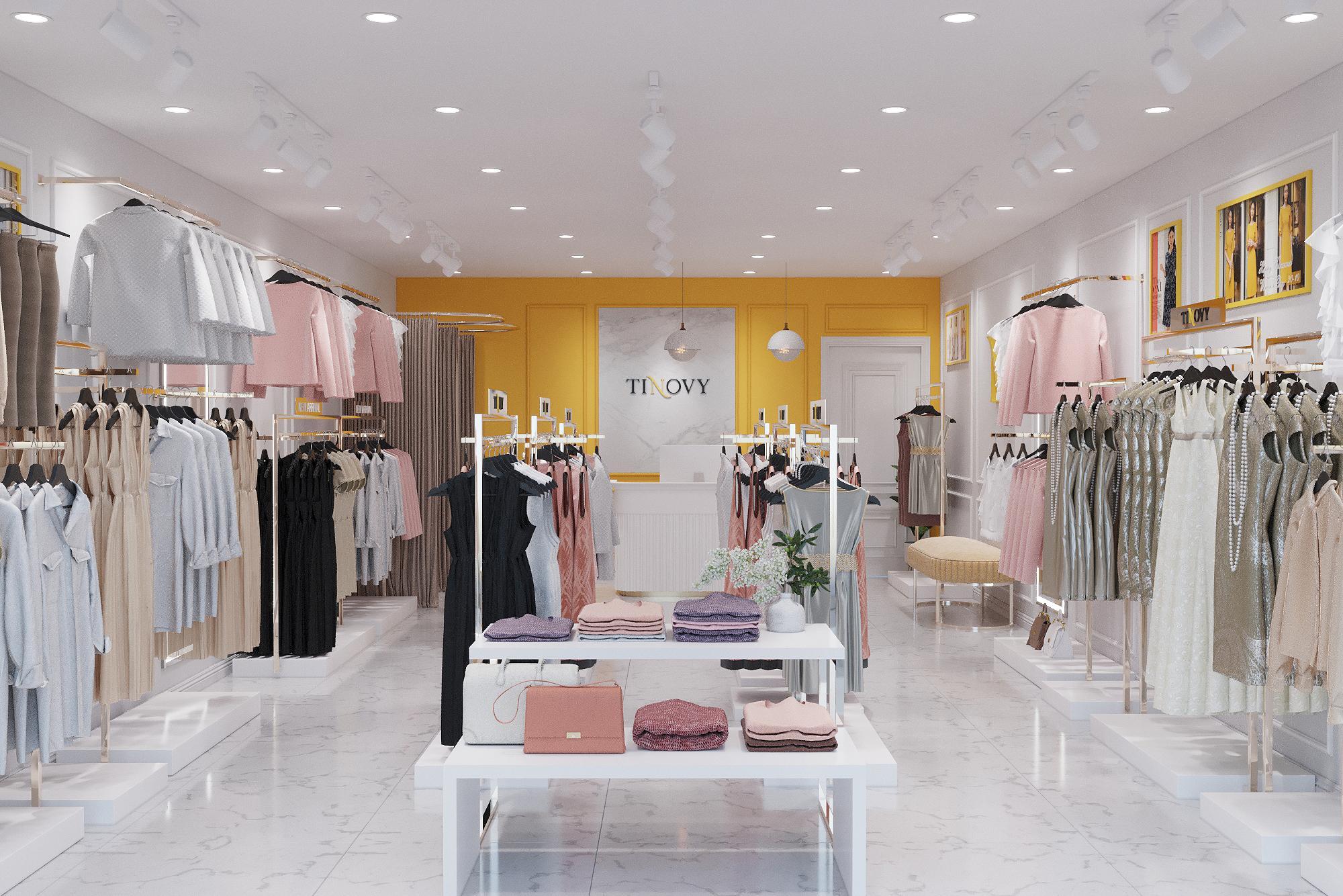 Tầm quan trọng của việc thiết kế shop thời trang offline