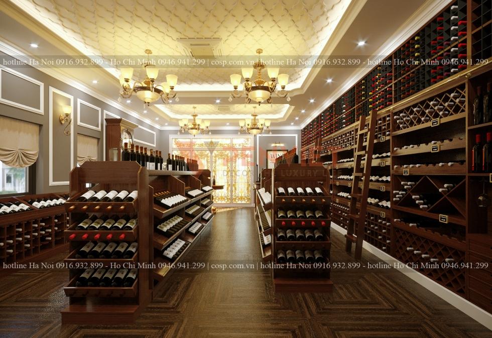 Cửa hàng rượu hàng đầu, chuẩn phong thủy theo thước lỗ ban