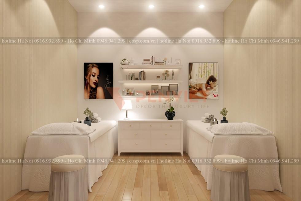 Thiết kế spa mini đẹp và chuyên nghiệp giúp thu hút khách hàng