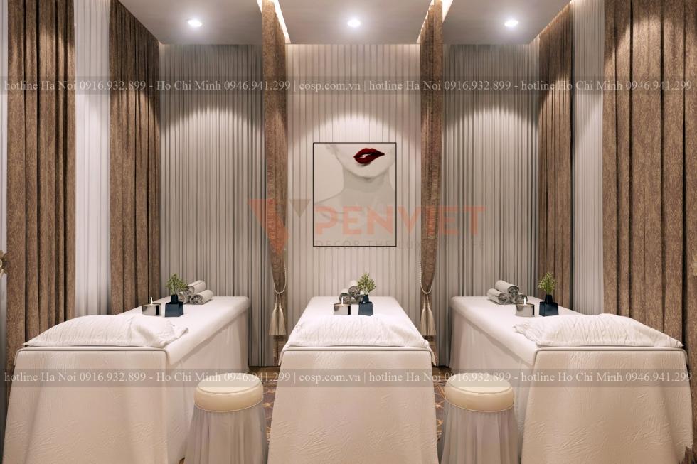 Phong cách hiện đại giúp chủ đầu tư có nhiều phương án decor cho Spa