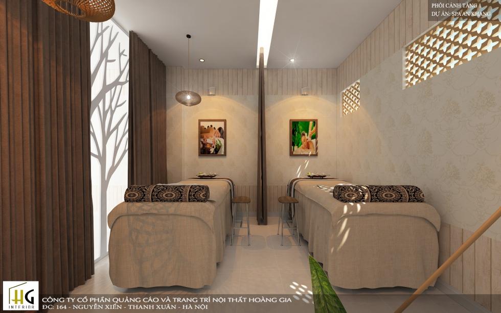 Mẫu thiết kế spa An Khang đẹp