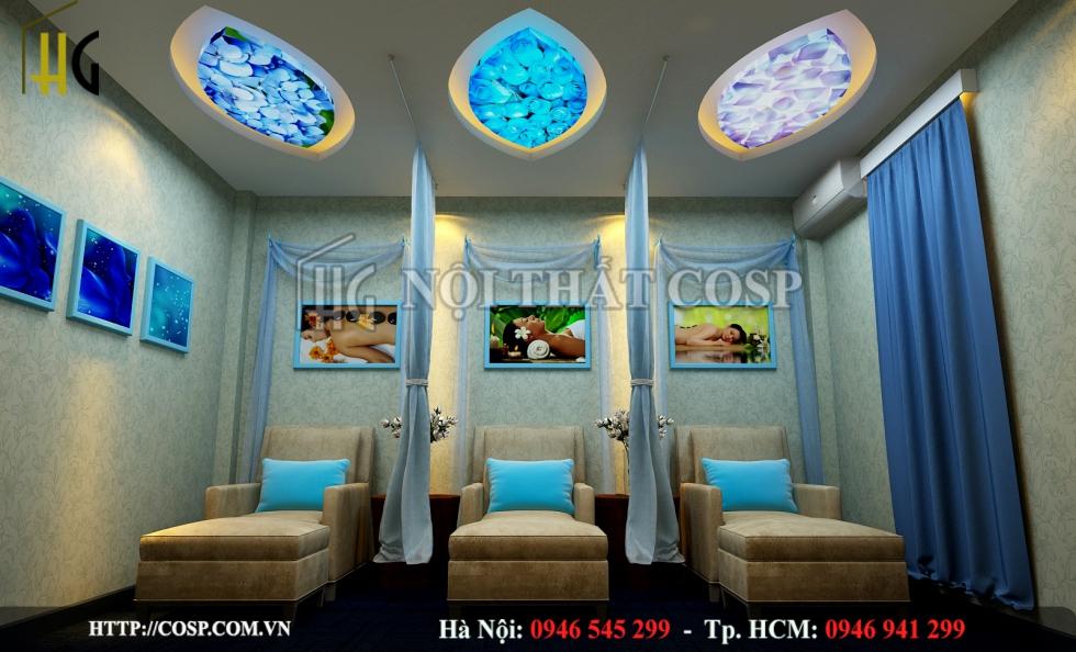Thiết kế spa RuBy Beauty & SPA chị Yến - Thanh Xuân - Hà Nội