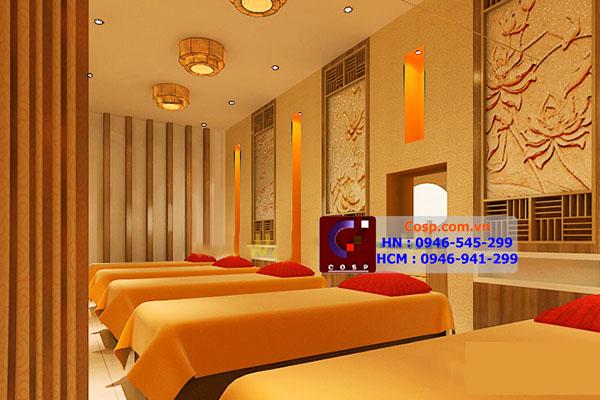 Thiết kế công trình Time Spa - 321 Tôn Đức Thắng