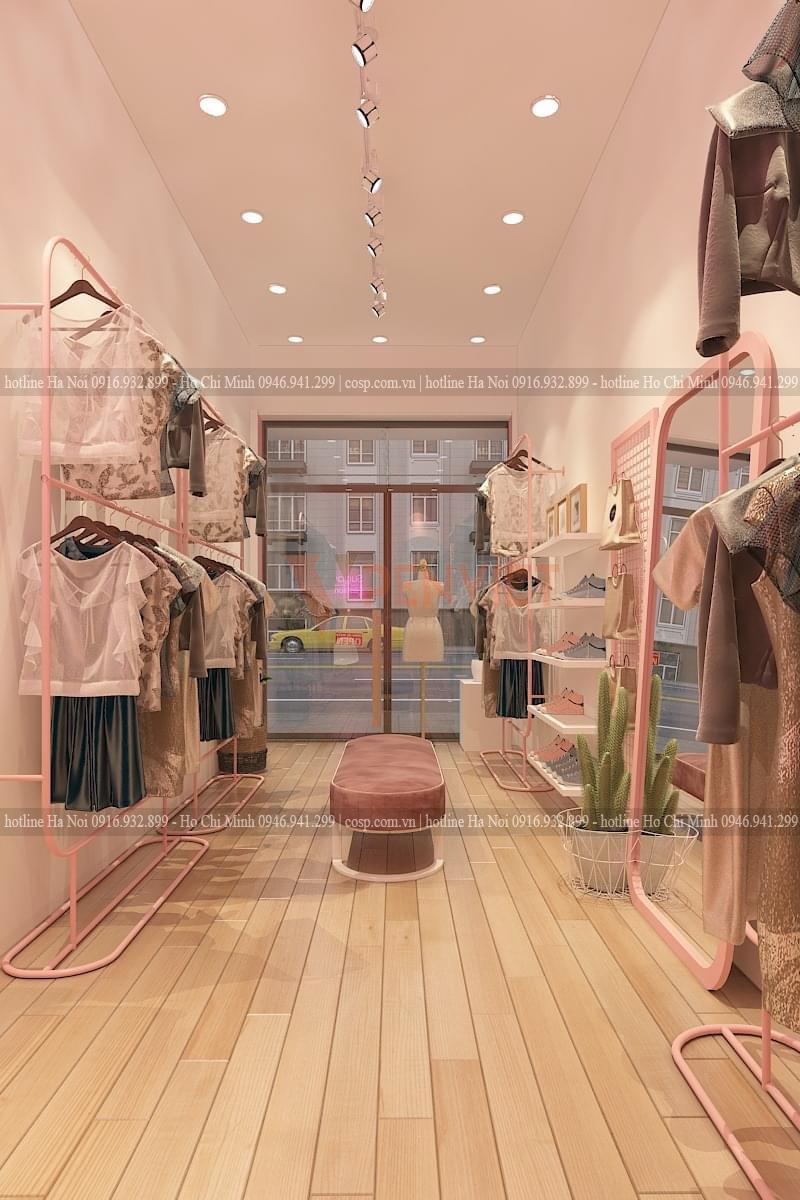 Thiết kế shop thời trang An Phương Shop