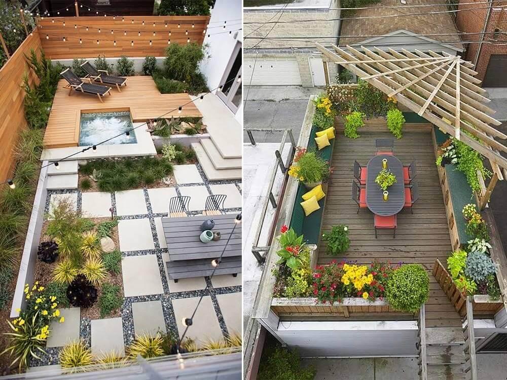 Những mẫu thiết kế sân thượng đẹp, ấn tượng