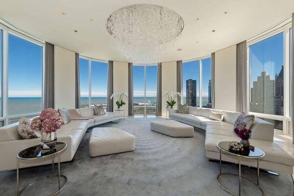 Penthouse có thể được thiết kế thông tầng hoặc một tầng