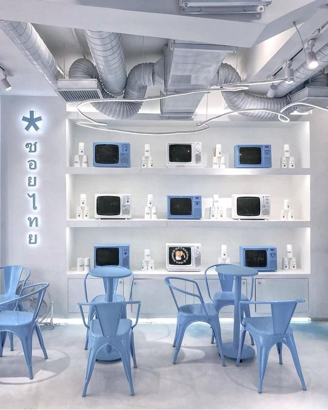 Màu xanh dương khiến chúng ta cảm thấy nhẹ nhàng, thư thái