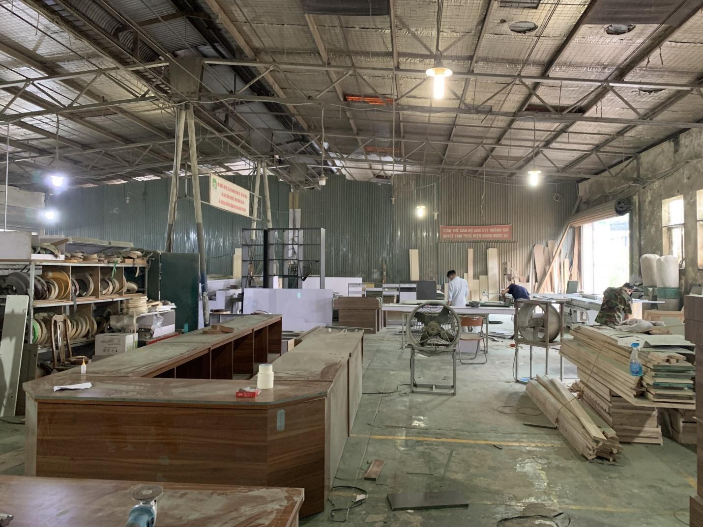 Penviet xây dựng nhiều xưởng sản xuất nội thất trên toàn quốc