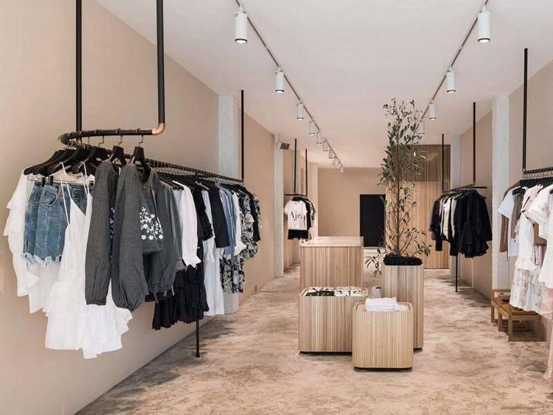 Sơn tường mang lại hiệu quả kinh tế cho thiết kế shop giá rẻ