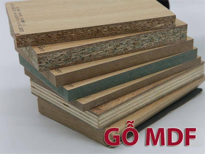 Gỗ MDF phù hợp với đa dạng phong cách thiết kế