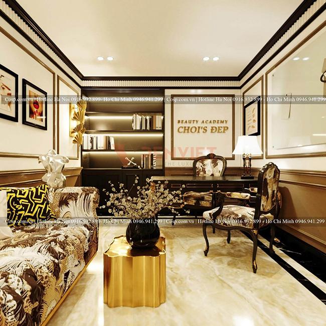 Xử lý vật liệu tinh tế, sáng tạo giúp tăng tính thẩm mỹ cho thiết kế Spa