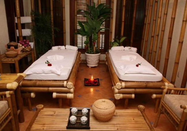 Xu hướng sử dụng vật liệu Humble trong thiết kế nội thất spa
