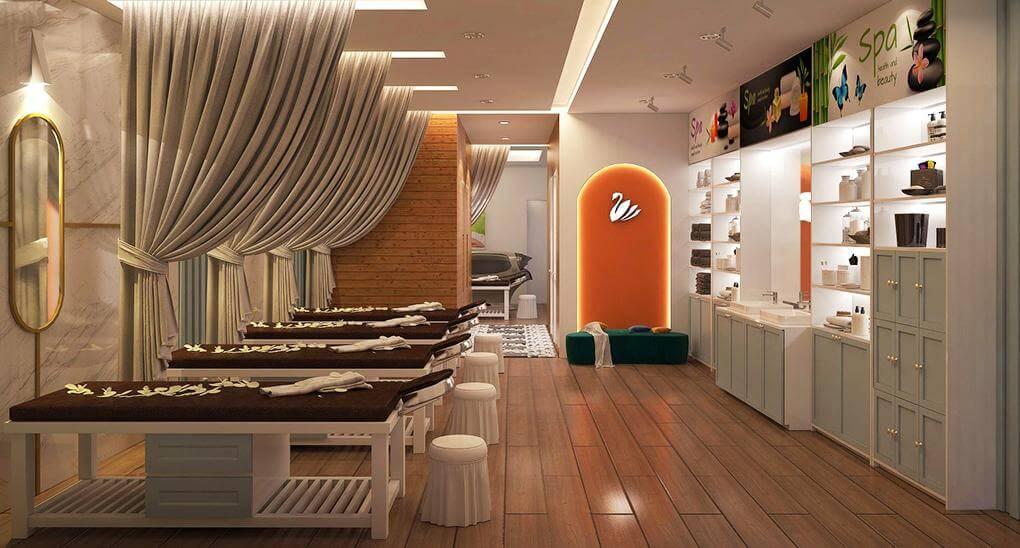 Thiết kế spa chuyên nghiệp cần đảm bảo công năng sử dụng cho cơ sở làm đẹp