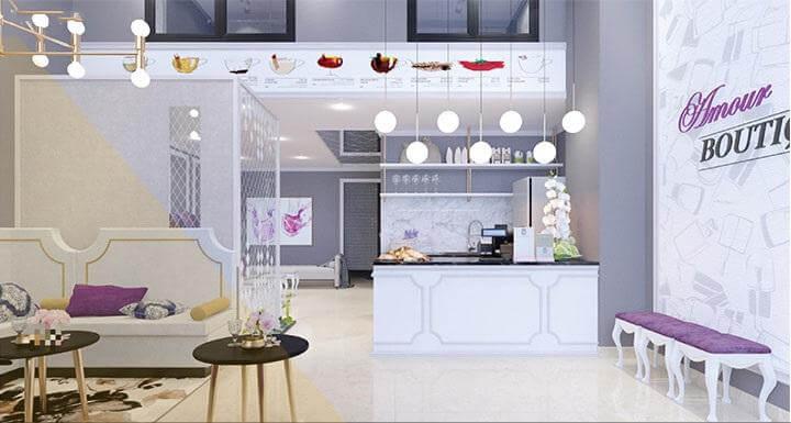 Decor cần thể hiện được ý đồ thiết kế nội thất spa đẹp