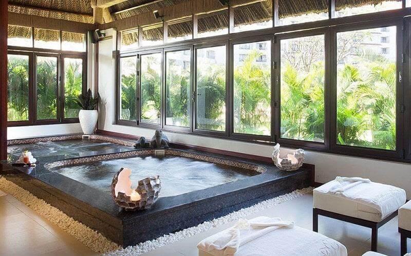 Tận dụng lợi thế về vị trí và cảnh quan để trang trí nội thất phòng spa đẹp