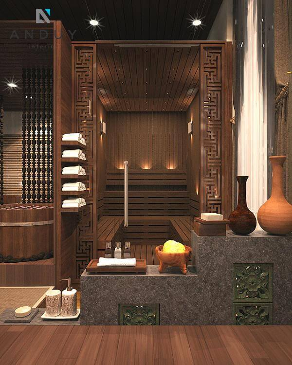 Thiết kế nội thất spa mang đến không gian lý tưởng để khách hàng trải nghiệm dịch vụ làm đẹp