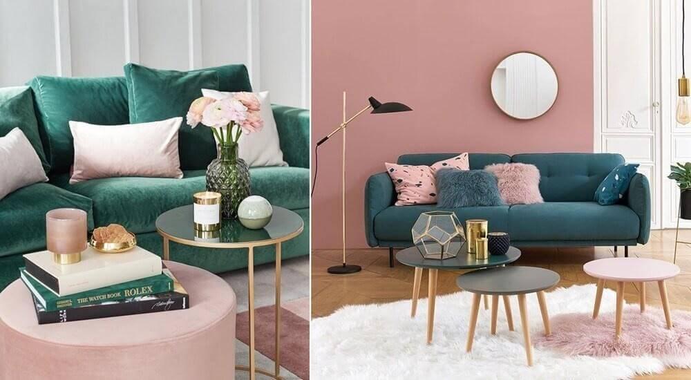 Tạo sự ấn tượng cho thiết kế spa bằng sắc hồng